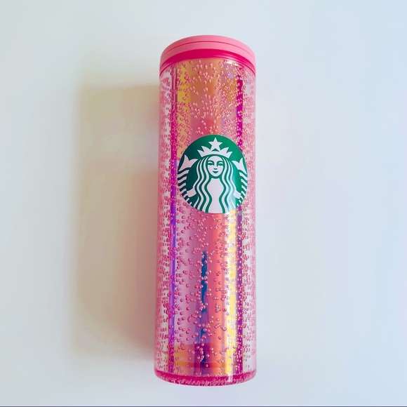New Starbucks Pink Bubbles Holiday